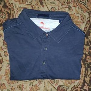 Tommy Bahama relaxed pima cotton polo shirt large